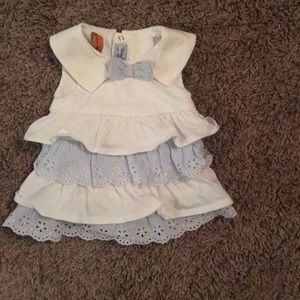 Other - Baby Girl Sailor Neckline Delicate Garden Dress